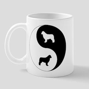 Yin Yang Newfie Mug