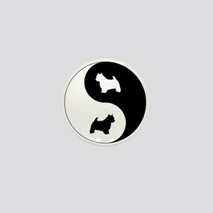 Yin Yang Norwich Mini Button