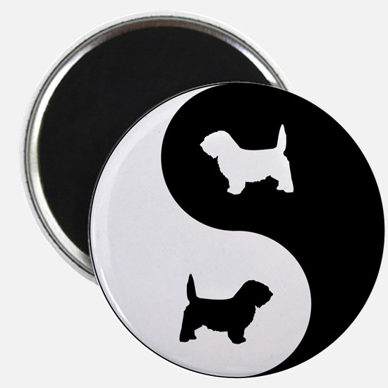 Yin Yang PBGV Magnet