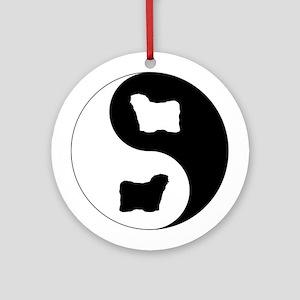Yin Yang Puli Ornament (Round)