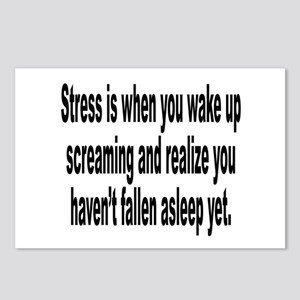 Humorous Stress Quote Postcards (Package of 8)