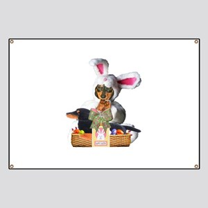 Easter Bunny Lily Banner