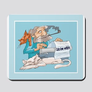Cats & Writers Mousepad