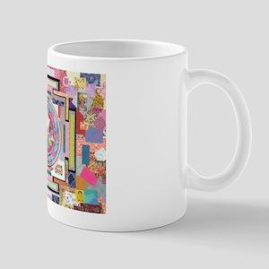 Sri Yantra Collage Mug