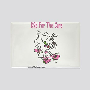 K9s For The Cure Rectangle Magnet