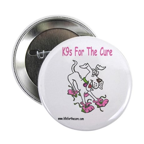 """K9s For The Cure 2.25"""" Button"""