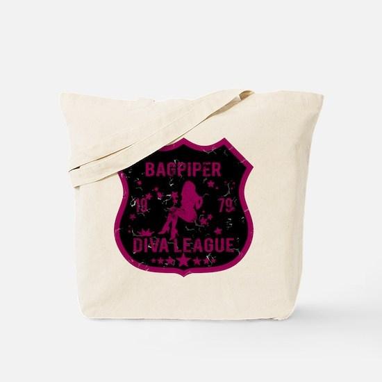 Bagpiper Diva League Tote Bag