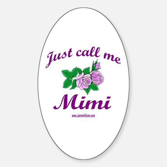 MIMI 1 Oval Decal