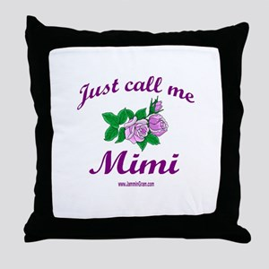 MIMI 1 Throw Pillow