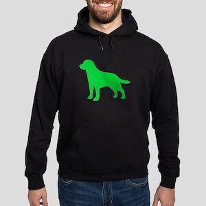 Labrador Retriever St. Patty's Day Hoodie (dark)