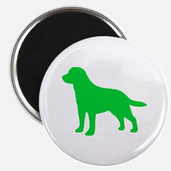 """Labrador Retriever St. Patty's Day 2.25"""" Magnet (1"""
