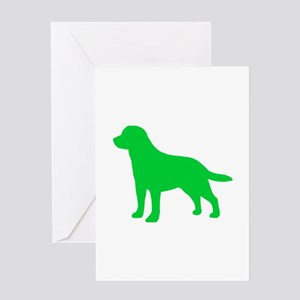 Labrador Retriever St. Patty's Day Greeting Card