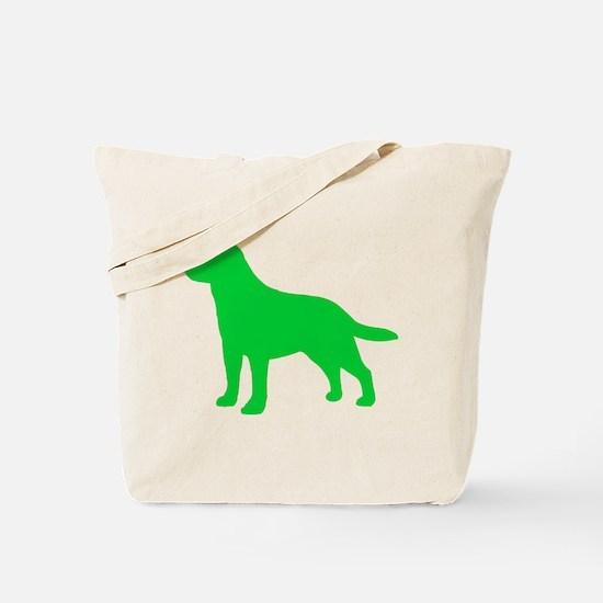 Labrador Retriever St. Patty's Day Tote Bag