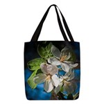 Apple Blossom Polyester Tote Bag