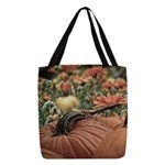 Fall Polyester Tote Bag