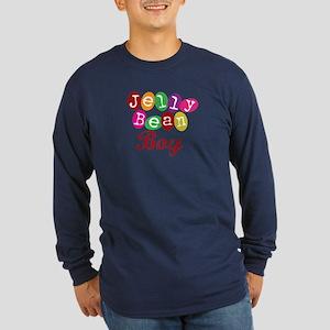 Jelly Bean Boy Long Sleeve Dark T-Shirt