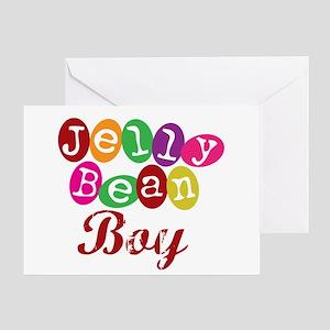 Jelly Bean Boy Greeting Card
