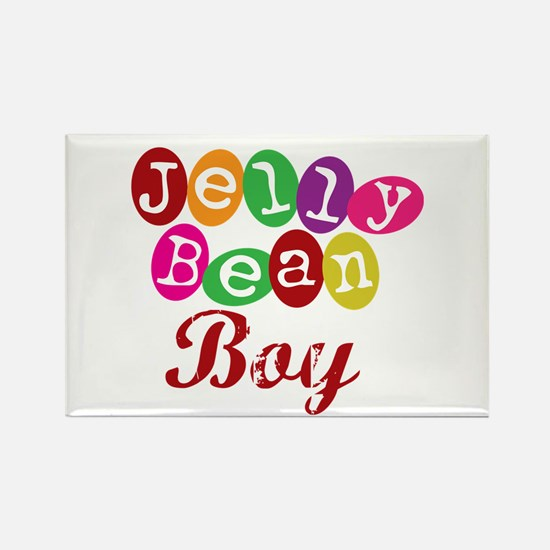Jelly Bean Boy Rectangle Magnet