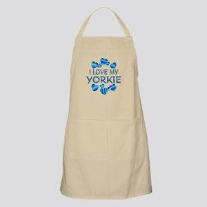 Yorkie BBQ Apron