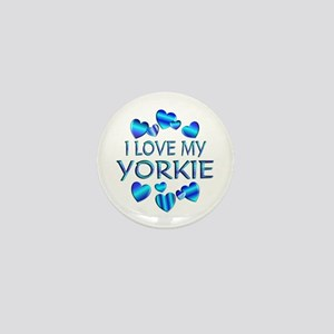Yorkie Mini Button