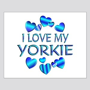 Yorkie Small Poster