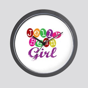 Jelly Bean Girl Wall Clock