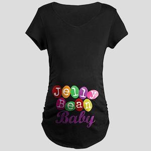Jelly Bean Baby Maternity Dark T-Shirt