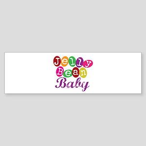 Jelly Bean Baby Bumper Sticker