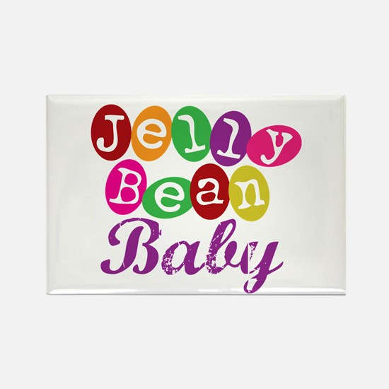 Jelly Bean Baby Rectangle Magnet
