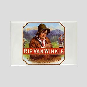 Rip Van Winkle Rectangle Magnet