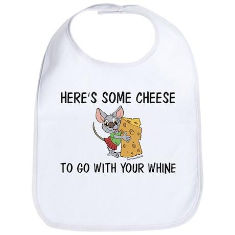 Whine & Cheese Bib