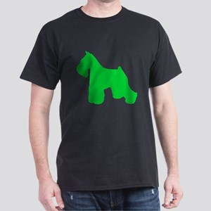 Miniature Schnauzer St. Patty's Day Dark T-Shirt
