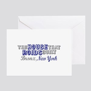 House that Roids Built Greeting Card