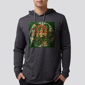 Harvest Moons Celtic Candle Long Sleeve T-Shirt