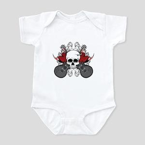 Guitar Hearts Infant Bodysuit