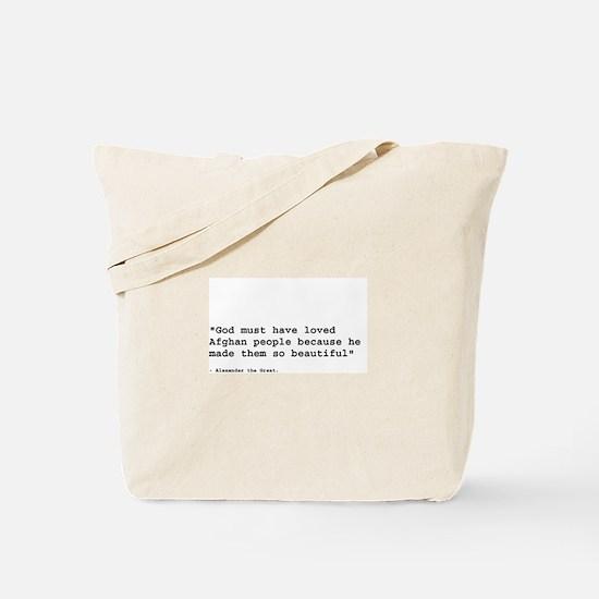 Unique Alexander the great Tote Bag