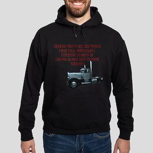 Highend Trucks Are Like Women Hoodie (dark)