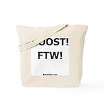 Nemesis Racing - BOOST! FTW! - Drage Race Tote Bag
