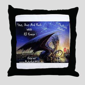 DJ Craze Merchandise Throw Pillow