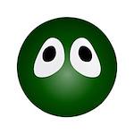 Green Blob Eyes Round 3.5