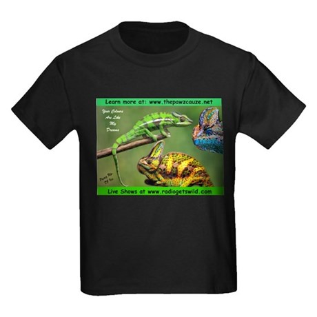 Chameleons Kids Dark T-Shirt