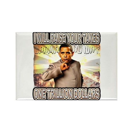 anti barack obama Rectangle Magnet (100 pack)