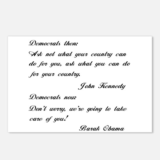 Kennedy to Obama Postcards (Package of 8)