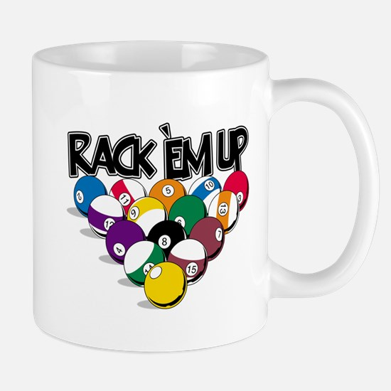 Rack Em Up Pool Mug