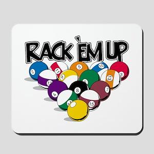Rack Em Up Pool Mousepad