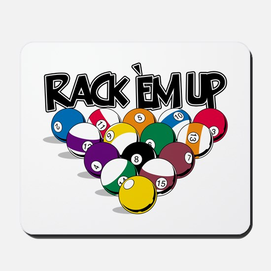 Rack Em Up Pool Mousepad