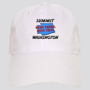 summit washington - been there, done that Cap
