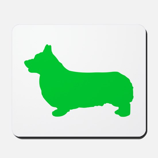 Corgi St. Patty's Day Mousepad