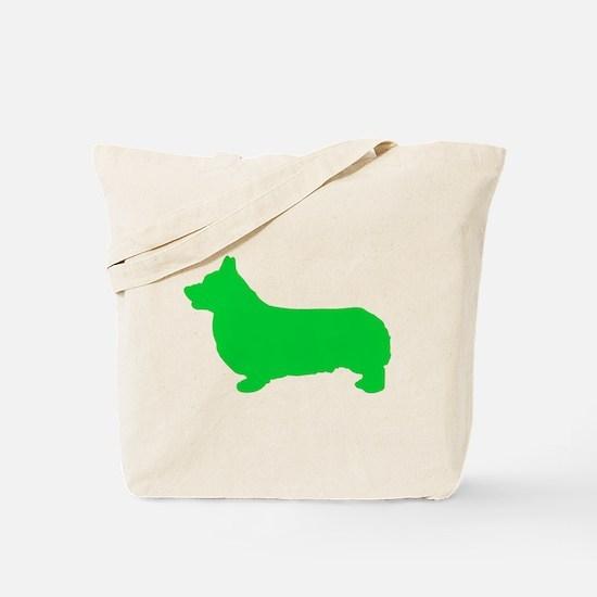 Corgi St. Patty's Day Tote Bag