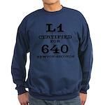Certified HPR Level 1 Sweatshirt (dark)
